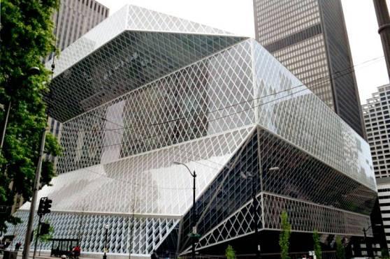 Seattle library--it'll sober ya up